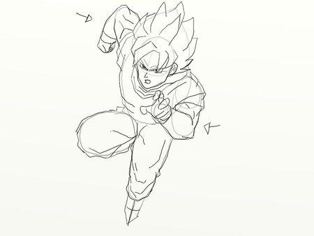 Comment dessiner sangoku - Dessin de sangoku ...
