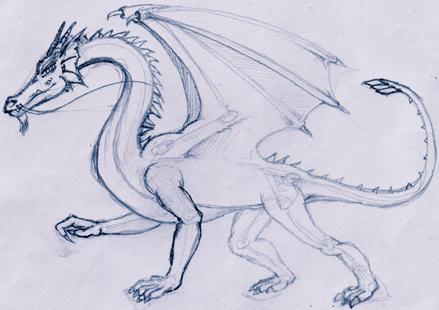 comment dessiner un dragon
