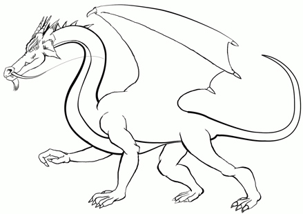 Comment dessiner un dragon - Dessiner des dragons ...