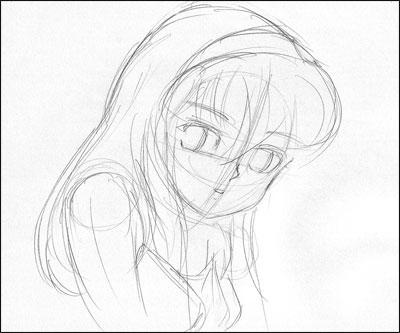 Comment dessiner une jolie fille etape par etape - Jolie dessin a faire ...