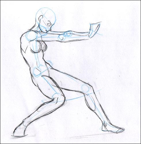 comment dessiner un etre humain