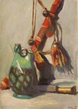 peinture nature morte oriental