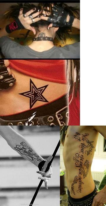 produccion de tatuajes. Hoffmann junto con David Jost y Pat Benzner entraron en la producción de sus