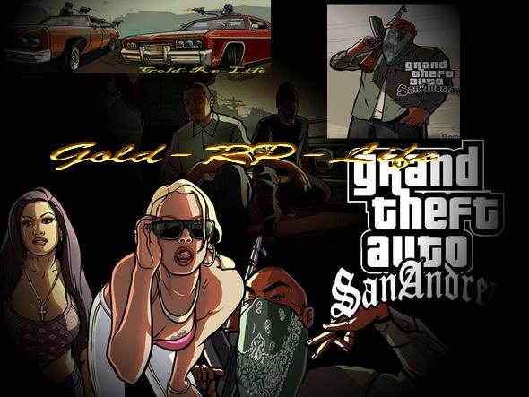(SAMP-RUS) Gold Life (UA-RPG)