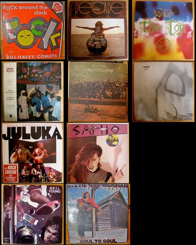 planche contact divers albums