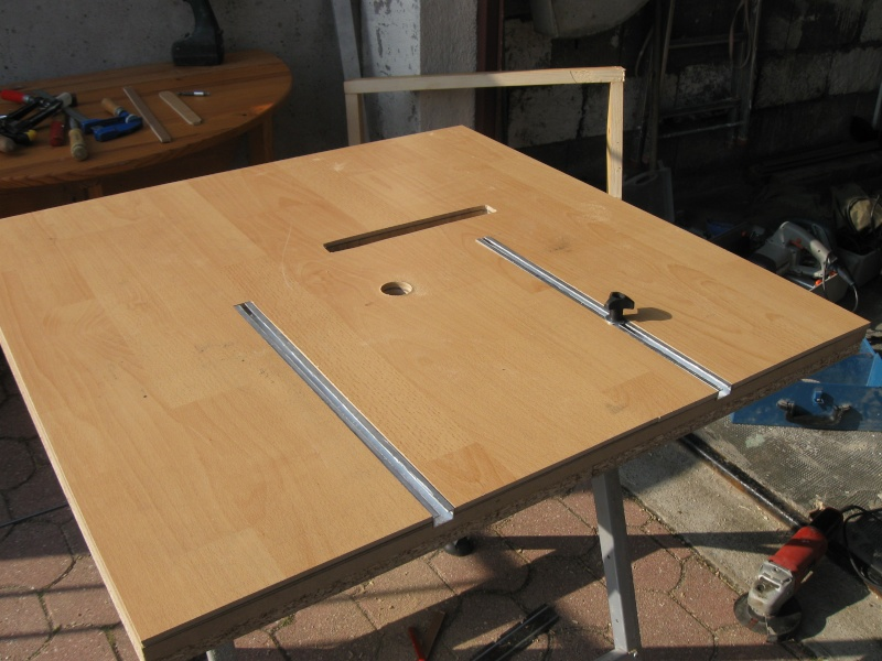 table de sciage d foncage