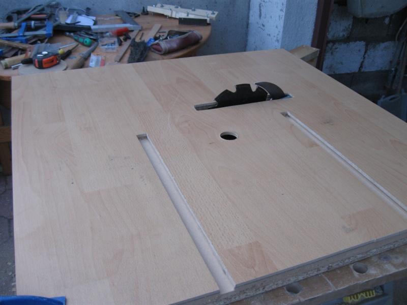 Table de sciage d foncage - Fabriquer table scie circulaire ...