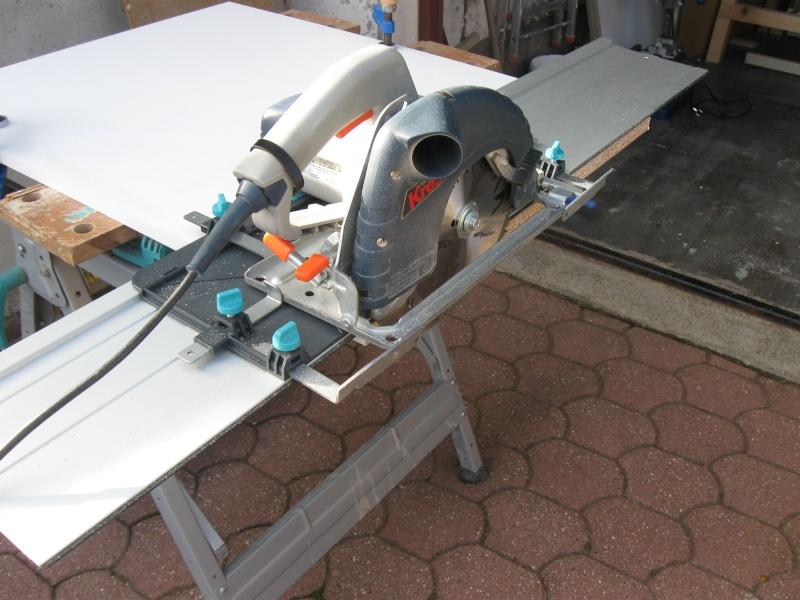 Rail de guidage scie circulaire wolcraft - Scie circulaire rail ...