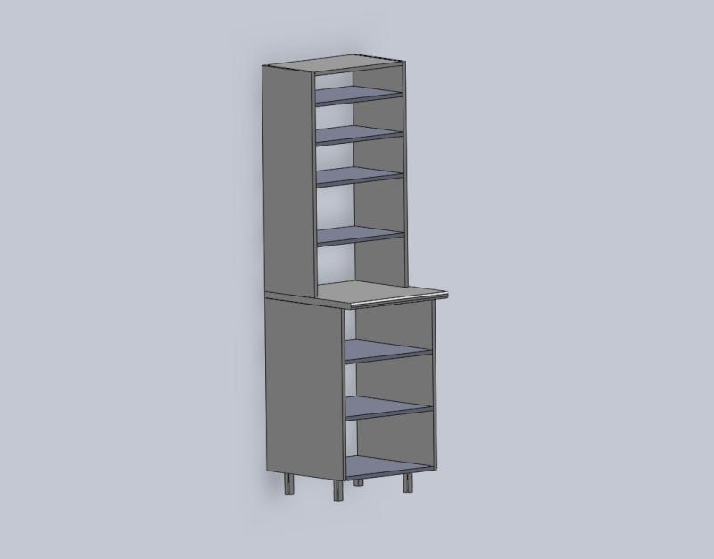 Cr ation meuble de cuisine for Grand meuble cuisine